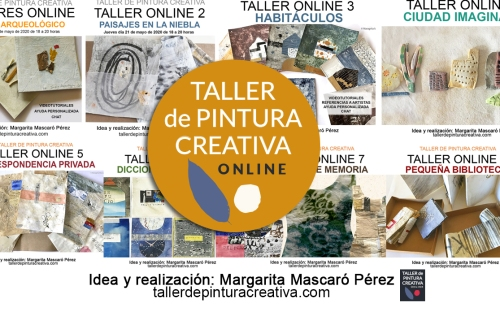 taller de pintura creativa - workshops de arte contemporaneo